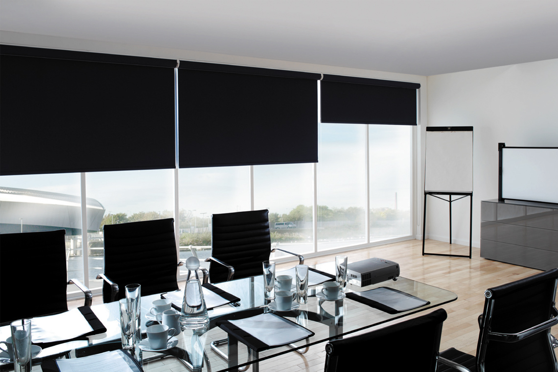 Commercial Motorized Shades